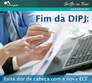 ECF: Receita muda IR e CSLL de empresas. Sistema Dzyon antecipa solução